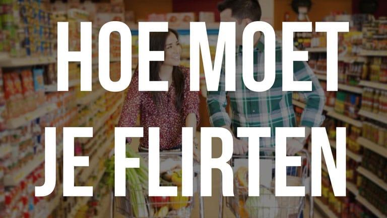 Hoe je flirt met leuke mannen: