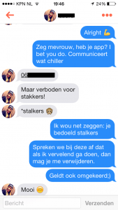 gesprek beginnen op tinder dating