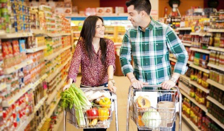 nieuwe mensen leren kennen in de supermarkt